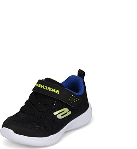 Skechers Jungen Skech-Stepz 2.0 Mini Wanderer Sneaker, Schwarz, 39 EU