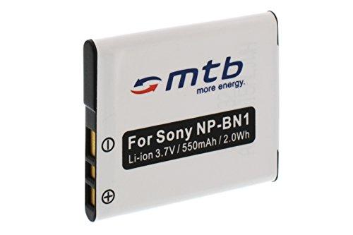 Ersatz-Akku NP-BN1 kompatibel mit Sony Cyber-Shot DSC-W710, W730, WX80, WX200. (Siehe Liste)