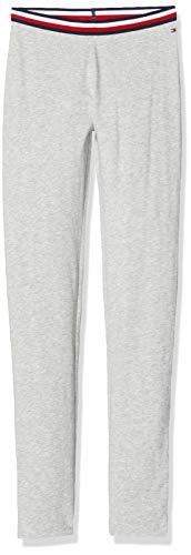 Tommy Hilfiger Meisjes Solid Tommy Legging, Grijs (Grey P01), 92/98 (Manufacturer Maat: 92)
