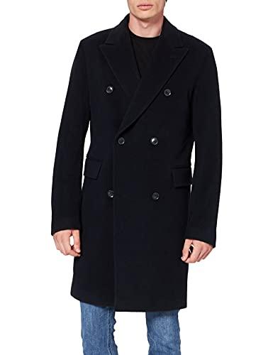 Strellson Premium Herren Park Lane Mantel, Blau (Blue 401), Medium (Herstellergröße: 48)