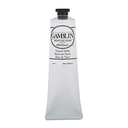 Gamblin Artist Oil Color - Titanium White - 150 ml Tube