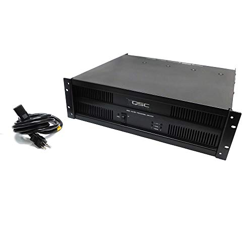 QSC ISA300Ti Power Amplifier 2 Channel Rack Mount Stereo 300 Watts per CH 70 Volt ISA Series