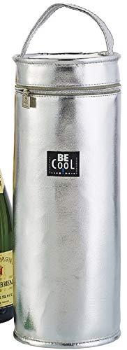 Kühltasche Isoliertasche Silber 33cm hochwertig BE CooL City Picknickkorb foolonli für Flaschen