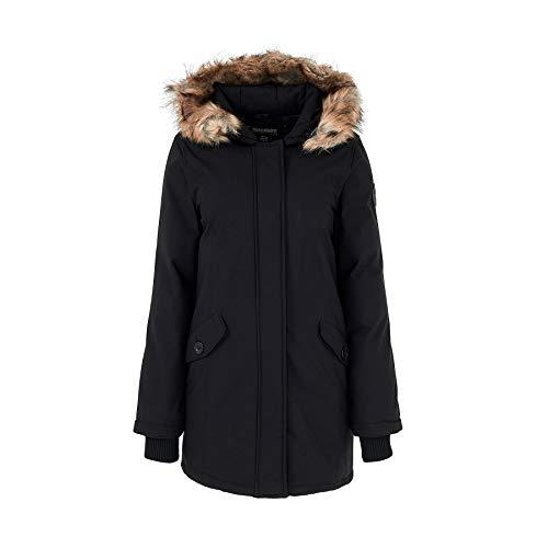 Geographical Norway Parka d'hiver pour femme D-451 - Noir - XX-Large