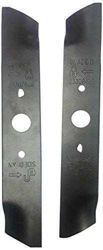Greenworks 10-Inch Mower Blade Replacement Set 29712
