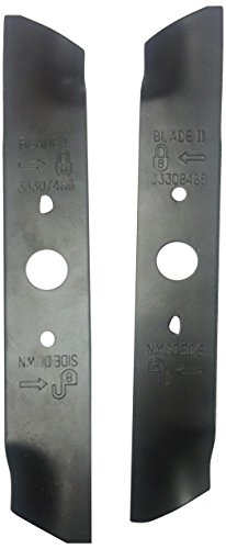 Greenworks 10-Inch Mower Blade Replacement Set 29712