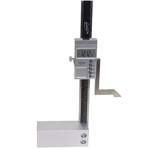 iGaging Digital Electronic Height Gauge with Magnetic Base, 6 Inch
