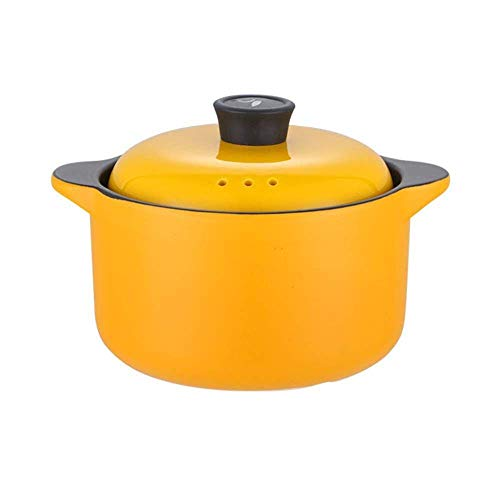 Enamel Pot Cast Iron Casserole Dutch Oven Casserole with Lid - Healthy and Durable,Non-Fading,Suitable for All Heat Sources-8