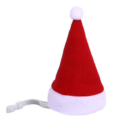 Wollaston Gorro de Navidad para mascotas, cálido invierno para gatos y perros,...