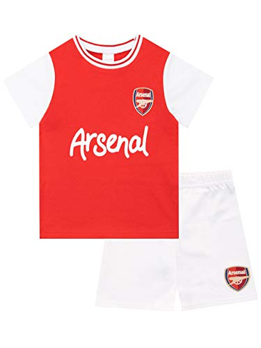Premier League Baby Boys' Arsenal FC Pajamas Size 6-9M Red