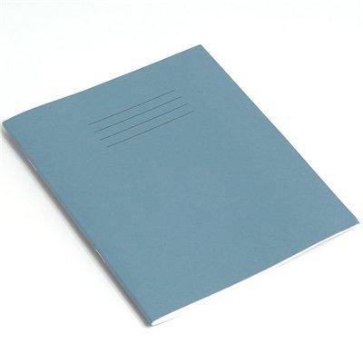 Rhino F8/M8 - Confezione da 10 quaderni per musica, 48 pagine, 200 x 165, colore: Azzurro