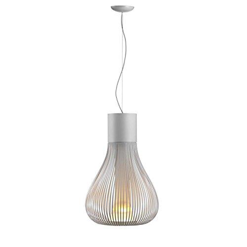 Flos Chasen - Lámpara de techo de borosilicato, de Patricia Urquiola, color negro