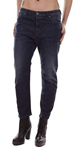 Diesel - Jeans da Donna Eazee-R Relaxed-Boyfriend Low Waist RJ738 Stretch Blu 24W x 30L