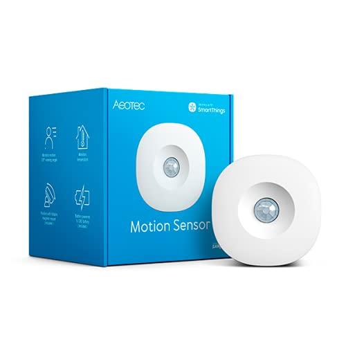 Aeotec SmartThings Motion Sensor, Zigbee, Magnetic mounting, Works with Smart Home Hub