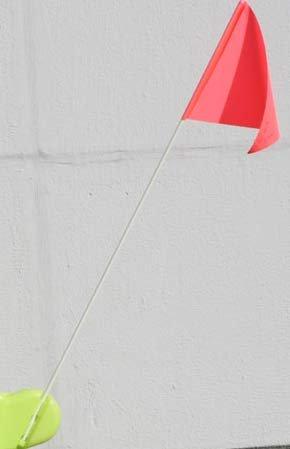 UvV-Shop UVBO2099 Ersatzfahne für Benny Brems (oder Lisa und Luca Vorsicht) die Warnpuppe von Step2 aus den USA