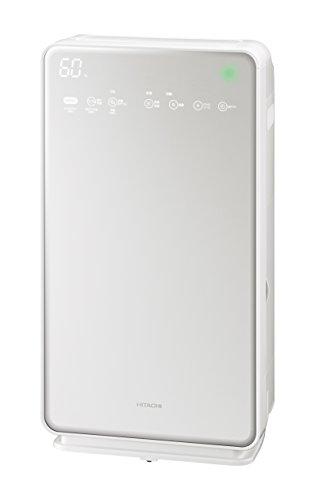 日立 加湿空気清浄機 クリエア ~42畳 自動おそうじ機能付き スピード集塵 PM2.5対応 EP-MVG90 W パールホワイト