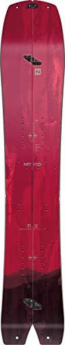 Nitro Snowboards Herren Boards Squash Split Brd'21 All Mountain Swallowtail Splitboard Backcountry, mehrfarbig, 159