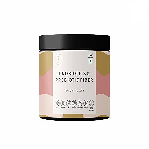 Palak Notes: Probiotics & Prebiotic Fiber powder for men, women, and kids with patented Lacto Bacillus Coagulans (Lactospore) for better Gut and immunity/ 150Grams