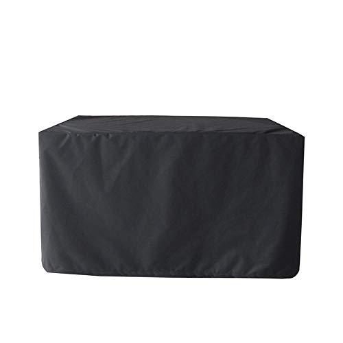 Mobili Da Giardino Covers - Sedie Impermeabile Piazza Esterna Di Copertura Di Mobili Per Tovaglie Rattan Mobili Black-86 * 86 * 36cm