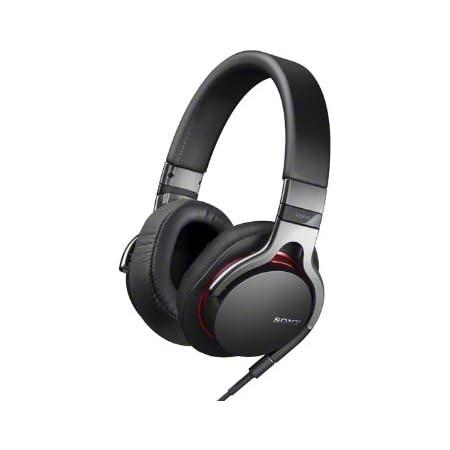 SONY 密閉型ヘッドホン ハイレゾ音源対応 iPhone/iPod/iPad対応リモコン・マイク付 ブラック MDR-1R/B