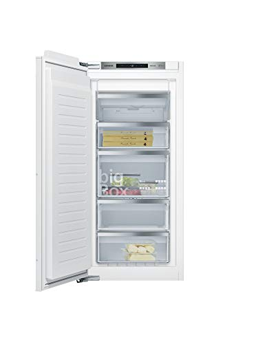 Siemens GI41NACE0 iQ500 Einbau-Gefrierschrank / A++ / 188 kWh/Jahr / 127 l / noFrost / Big Box / softClosing Tür