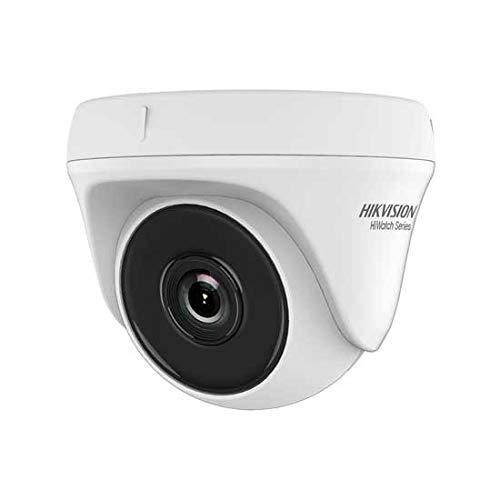 Andromedastore® Hikvision HWT-T110-P Hiwatch Series Cámara dome 4 en 1 TVI/AHD/CVI/CVBS HD 720P 1 Mpx 2,8 mm OSD IP20