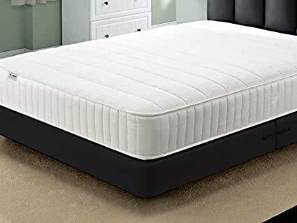 Cool Blue Lines Bonnell spring memory foam 6' mattress 3ft 4ft6 5ft 6ft sizes UK (3ft)