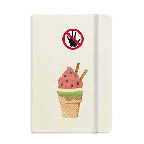 Kekse Wassermelone Cones Eiscreme Secret Notebook Classic Journal Diary A5