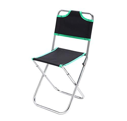 KKAAMYND 1 Pcs légère Chaise de Camping de pêche Portable Pliable Sac à Dos Outdoor Tissu Oxford Pliable Pique-Nique Party Chaise de Plage avec Sac (Color : Pillow Beige)