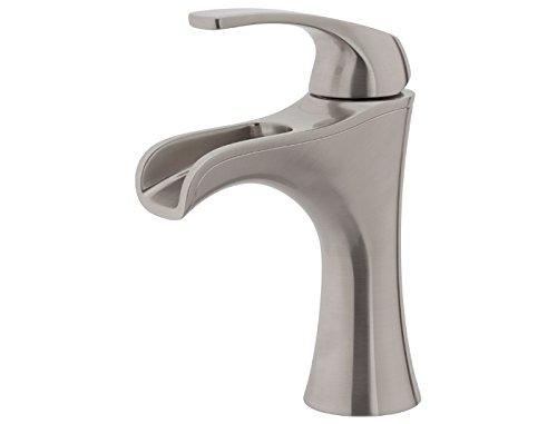 Pfister F042JDKK Jaida Single Control 4' Centerset Bathroom Faucet, Brushed Nickel