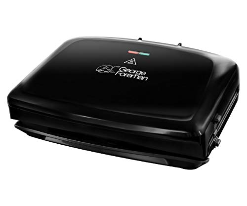 George Foreman Family - Grill Eléctrico (Plancha Grill de 1400 W, 5...