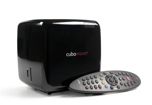 Cubovision di Telecom Italia, Digitale Terrestre, Video on demand in HD e 3D, Web TV, My Media, Personal Video Recorder COLORE NERO