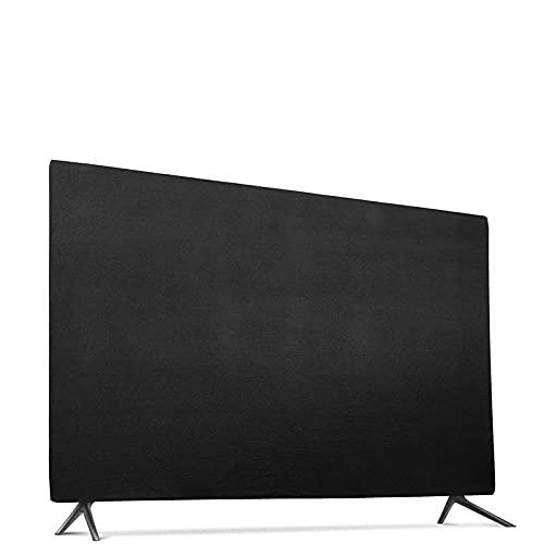 LCBYOG Funda TV Exterior 32 Pulgadas 43/49 / 55inches Universal TV Monitor de computadora Cubierta a Prueba de Polvo Cubierta Colgante Paño Elástico Cubra de Polvo de Escritorio