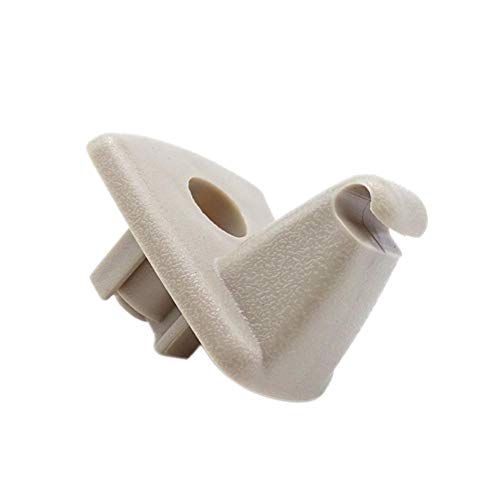 WXGY Nouveau en Plastique Pop Up Durable Clip Pare-Soleil accroché Crochet Support de Remplacement de Stockage Support de véhicule pour Chrysler 300C Voiture intérieur