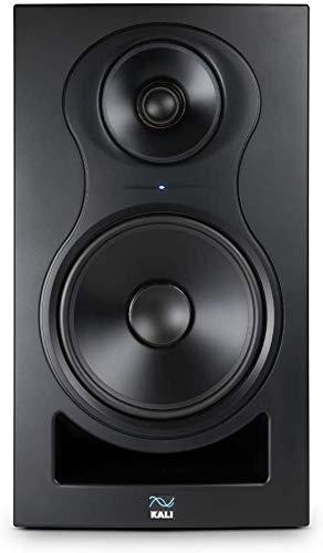Kali Audio IN-8 Aktiver 3-Weg Nahfeldmonitor Monitorlautsprecher Studio Monitor (Koaxialer Mittel-/Hochtöner, 140W - 60/40/40 Watt Tri-Amped), schwarz