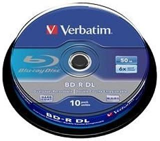 Verbatim 43746 - Pack de Discos de BLU-Ray vírgenes (10 Unidades, 50 GB, 6X)