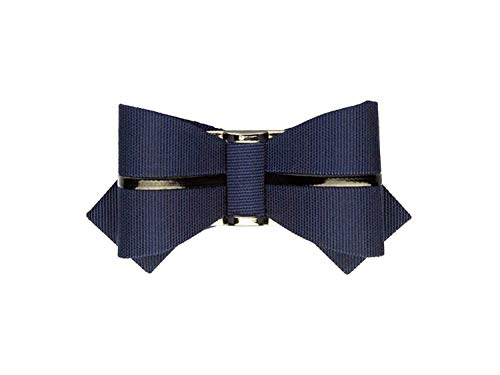 La Loria Damen Schuhclip Fashionable Loop in Blau, Schuhschmuck, Schnalle (2 Stück)