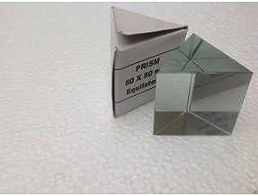 SSU Optical Glass Prism Diy Reflection Prisms Equilateral Prism, 200 X 200 Mm