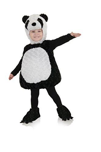 UNDERWRAPS unisex-baby Baby's Panda Costume ,Black ,Large (2T-4T)