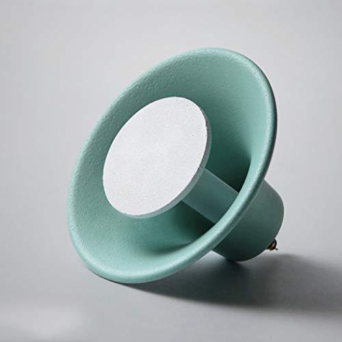 Ganchos para colgadores Gancho para decoración de pared Pasillo para gancho Perchero para decoración de hierro Creative Nordic (Color : D)