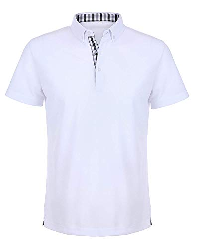 Polo Shirt Kurzarm Herren polohemd Shirt Basic Polo Freizeit Business Polo Polo Hemd