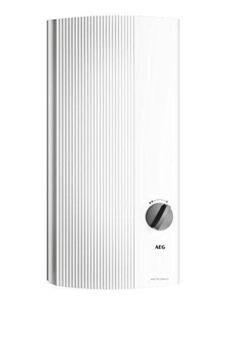 AEG Haustechnik 222384 hydraulischer Durchlauferhitzer DDLT PinControl, 13 kW, 4 Leistungsstufen