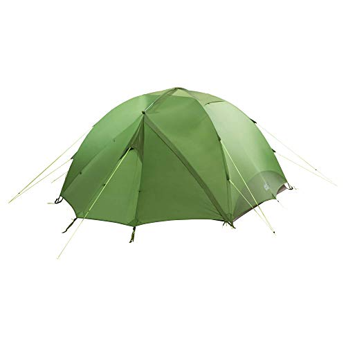 Jack Wolfskin Yellowstone Very Well Ventilated Hiking Tent with Removable Fly Repair kit Included