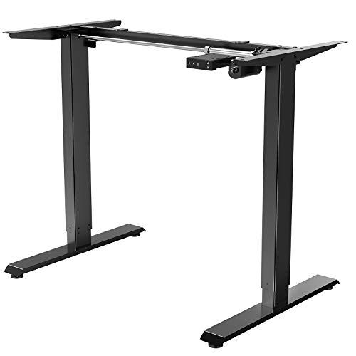 Electric Stand up Desk Frame - ErGear Height Adjustable Table Legs Sit Stand Desk Frame Up to 47.2' Ergonomic Standing Desk Base Workstation Frame Only