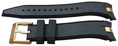 Cinturino orologio autentico Seiko 20mm - Nero R02N117P0