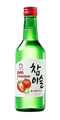 Jinro Strawberry Flavour Soju 360ml 13% Alc./Vol