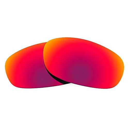 Revant Lentes de Repuesto Compatibles con Gafas de Sol Arnette Bushwick AN4256, Polarizados, Sol de Medianoche MirrorShield