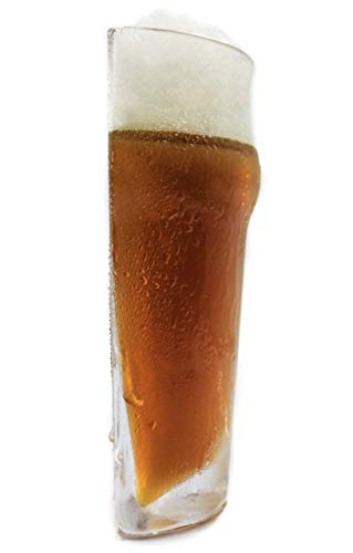 Godetevi la metà: bicchieri da birra dimezzati, capacità 280 ml.