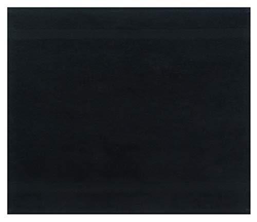 Betz Serviette débarbouillette Lavette Taille 30 x 30 cm 100% Coton Premium Couleur Noir