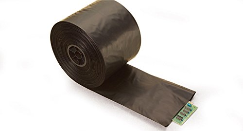 Great Features Of 24 x 4 mil Black Plastic Conductive Tubing (Roll of 750')